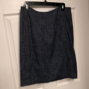 The Limited chambray pencil skirt